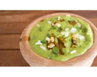 Nur 3+3 Zutaten für eine würzige Brokkoli-Suppe