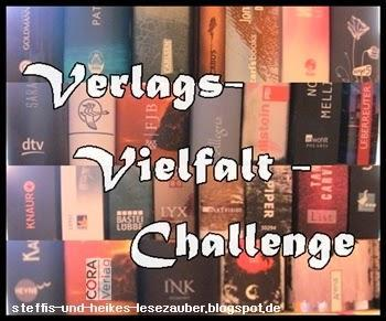 [Verlags-Vielfalt-Challenge] 6. Monat - Lesefortschritt (15.01.-14.02.2015)