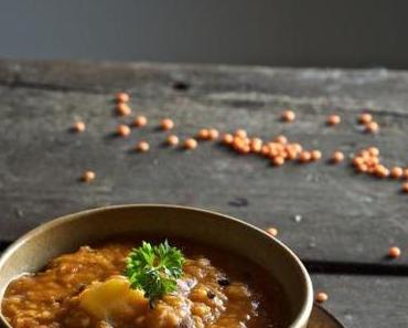 Linsen-Tomaten-Eintopf