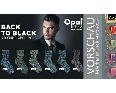 Jahres-Vorschau OPAL Sockenwolle 2015