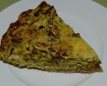 Kartoffeltorte mit Räuchertofu ovo-lacto-vegetarisch