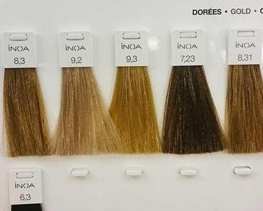 Neue Haarfarbe mit INOA