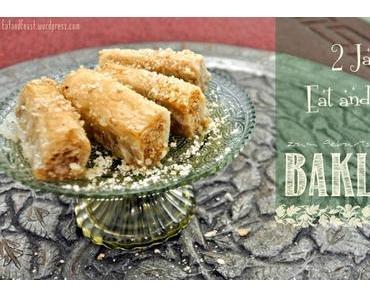 Knusper knusper Knäuspchen – zum Bloggeburtstag gibts Baklava
