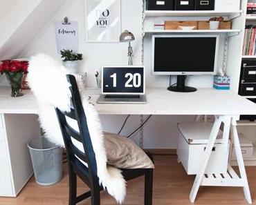 DIY: Unser neuer Schreibtisch