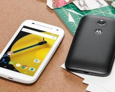 Motorola bringt Smartphone für Einsteiger heraus