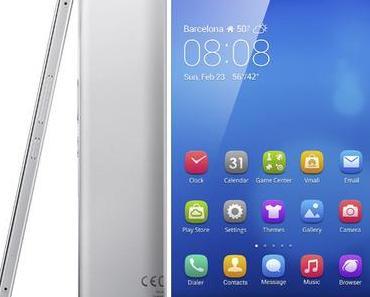 MWC: Huawei-Phablet MediaPad X2 mit 7 Zoll-Bildschirm