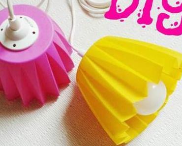 DIY Upcycling –  Neuer Lampenschirm aus altem Blumenübertopf!