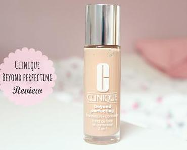 "Review: Clinique Beyond Perfecting Foundation+Concealer ""Ivory"" (Vorher/Nachher)"