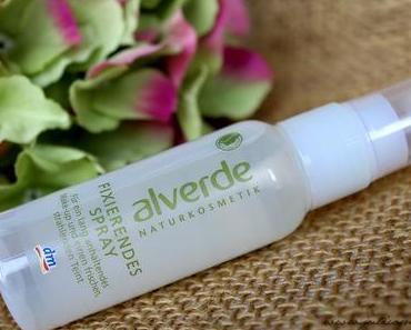 Fixierendes Spray von Alverde // Review