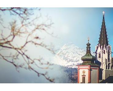 Bild der Woche: Basilika Mariazell mit Ötscher