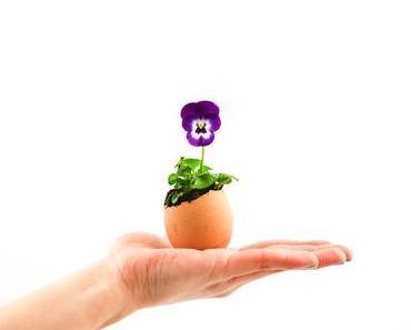 Ostern DIY – das Blumenei