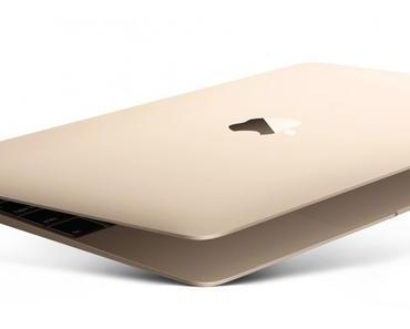 Apple MacBook 12 Zoll: Der leuchtende Apfel ist weg und nur ein USB-C Anschluss