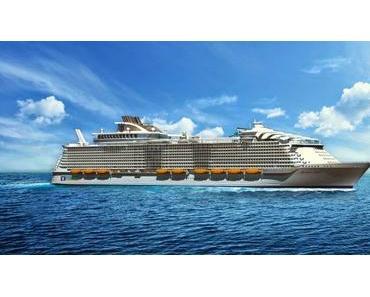 Größtes Kreuzfahrtschiff der Welt – Harmony of the Seas von Royal Caribbean International – fährt erste Saison ab Barcelona
