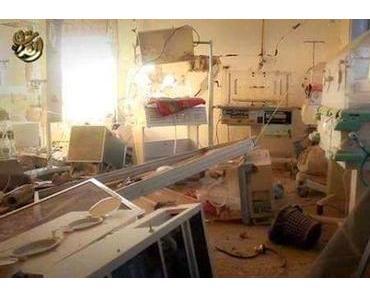 Syrien: NATO-Koalition bombardiert Krankenhaus