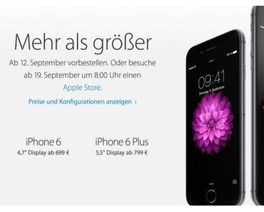 iPhone 6s in Pink und mit Force Touch?