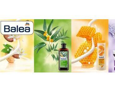 Neuer Look für Balea Dusch- und Badprodukte