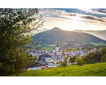 Bild der Woche: Blick auf Mariazell im Frühling