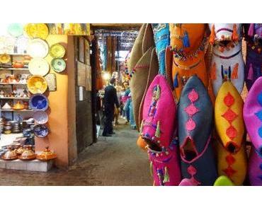 Marokko: Kaktus-Seide und blauer Garten