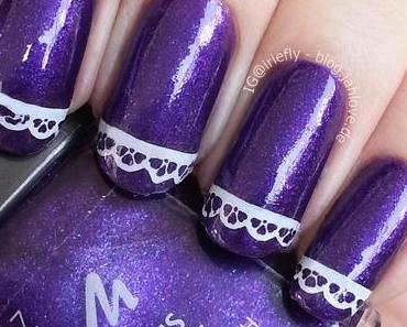 """[Nails] Manhattan - Community Collection """"20 Purple Poetry"""""""