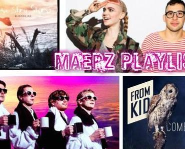 PLAYLIST: MÄRZ 2015 mit Tocotronic, One Sentence. Supervisor, From Kid, The Slow Show und mehr!