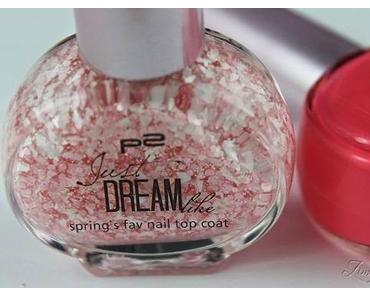 p2 Metal Reflection, Crisp+Color & Just Dream Like Polishes