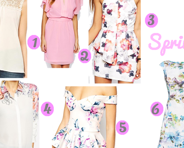 Joy of Spring - Shoppingtipps der Woche No.7