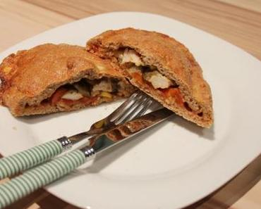 Clean Eating Recipe: Healthy Calzone