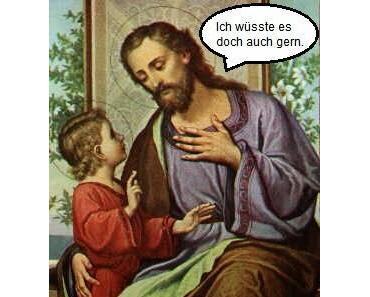 Der Josef, der heilig wurde, weil er sein Maul hielt