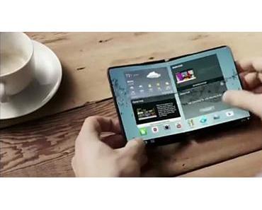 Das Samsung Galaxy S7 könnte ein faltbares Smartphone sein