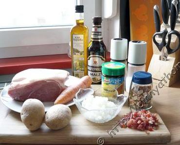 Krups Prep and Cook - Schweinebraten mit Malzbiersauce