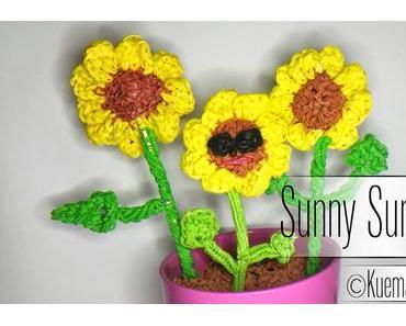 Rainbow Loom Sonnenblume / Sunflower