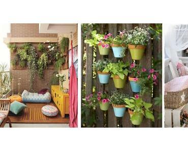 Frühlingsgefühle: Raus auf Balkon und Terrasse