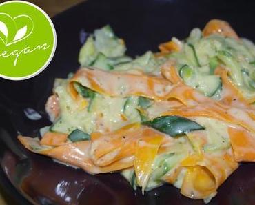 Gemüsepasta mit Sahne-Sauce – Wir boykottieren den Brauch am Karfreitag Fisch zu essen