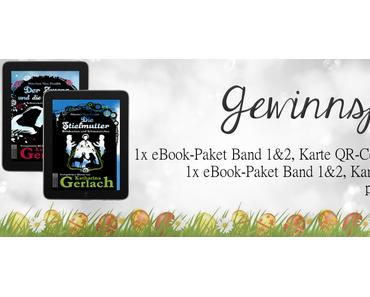 """[Gewinnspiel] """"Schätze neu erzählt"""" - Band 1&2 von Katharina Gerlach & Goodies"""
