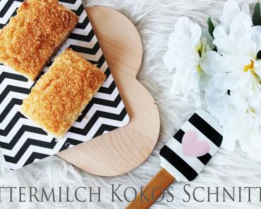 Low Carb | Buttermilch Kokos Schnitten
