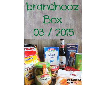 [BRANDNOOZ] März 2015 Box