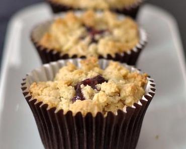 Der amerikanische Klassiker in Muffin-Form: Erdnussbutter & Marmelade