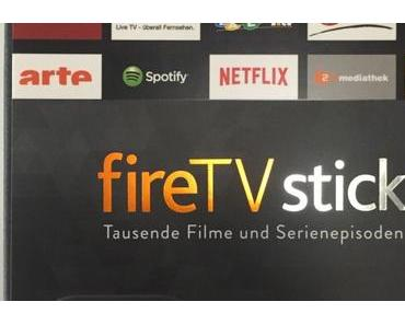 Der amazon fireTV Stick in Aktion