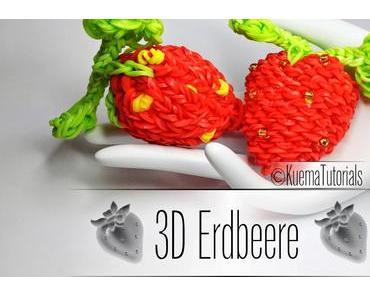 Rainbow Loom 3D Erdbeere - Strawberry