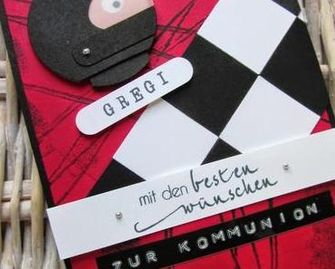 Gutschein zum Kartfahren mit dem Envelope Punch Board