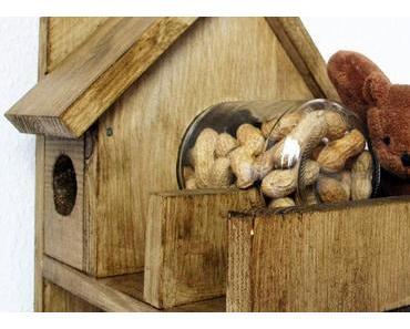 Eichhörnchen-Futterhaus: Schritt für Schritt-Bauanleitung