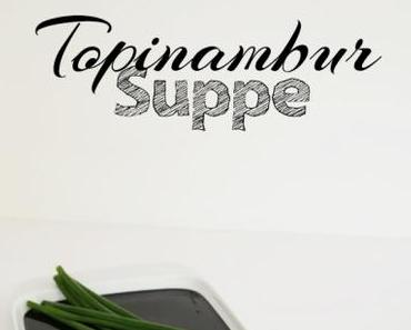 – Food Monday – Topinambur-Suppe mit Croutons und Mandeln