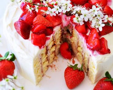 Süße Früchtchen - Erdbeer Wickeltorte