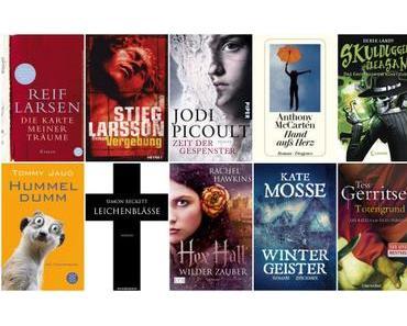Welttag des Buches 2015: Meine Lieblingsbücher der letzten vier Jahre