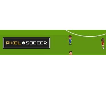 Große Fußball-Momente im 8-Bit-Pixel-Look