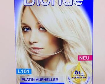 Schwarzkopf Blonde Platin Aufheller Haartönung