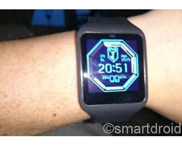 Neues Abenteuer, Smartwatch 3 von Sony