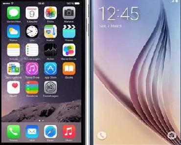 Vergleich: Samsung Galaxy S6 Edge vs. iPhone 6 Plus
