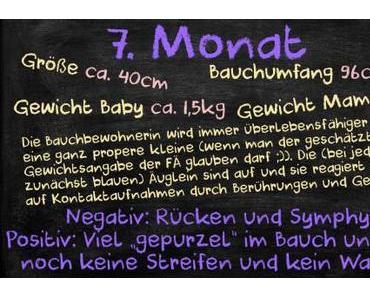 Meine Schwangerschaft – Rückblick: Der siebte Monat