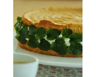 Prosecco-Zitronenmelisse-Torte